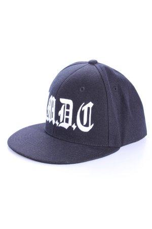 Decky Basecap schwarz weiß
