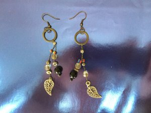 Decorated Ethnical Earrings