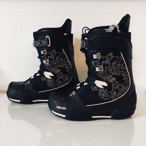 Deeluxe Snowboard Boots 38/39 / 25.5 schwarz/pink/rosé