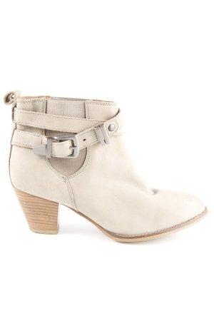 Deena & Ozzy Western Booties beige country style