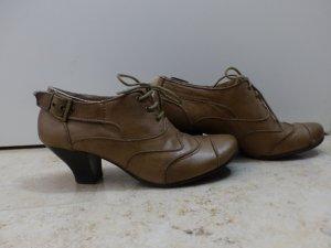 Deerberg Low boot chameau cuir