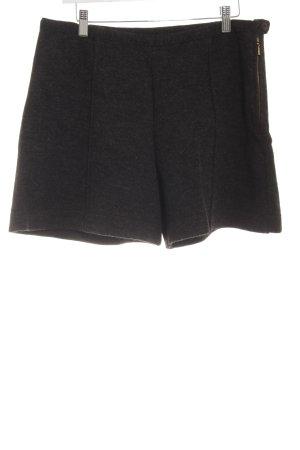 Deerberg High-Waist-Shorts anthrazit Casual-Look