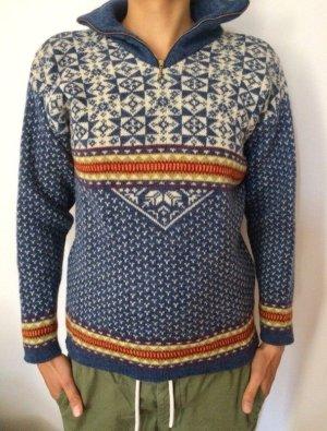 Deerberg Jersey de lana multicolor lana de esquila