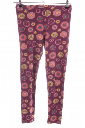 Deerberg Stretch Trousers graphic pattern casual look