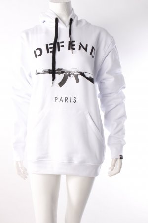 Defend Sweatshirt weiß
