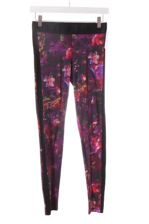 Deha Leggings florales Muster extravaganter Stil