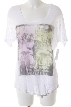 Deha T-shirt Stampa a tema stile casual