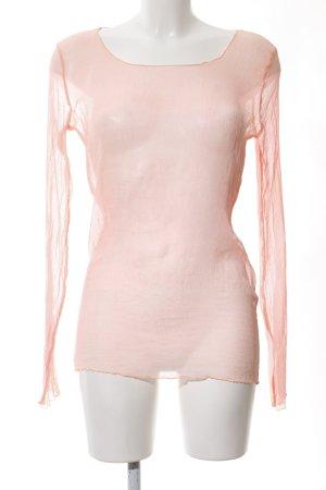 Deha Transparenz-Bluse hellorange Casual-Look