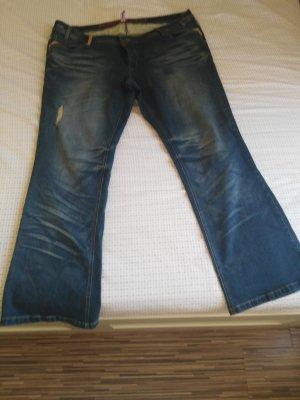 Rainbow Boot Cut spijkerbroek blauw