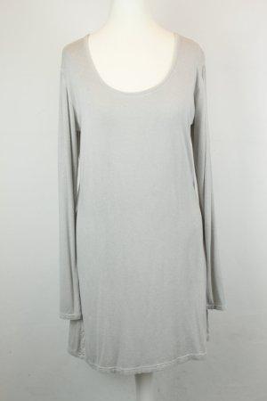Deichgraf Kleid Shirtkleid Gr. L grau langarm
