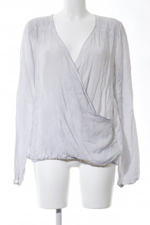 Deichgraf Wraparound Blouse light grey casual look