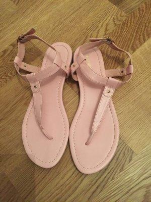 Deichmann Sandalen zehentreter rosa 39