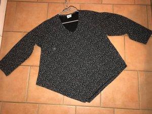 Camisa holgada negro-gris