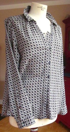 dekorative Bluse (55% Baumwolle, 45% Viskose) von Cecil, Gr. L