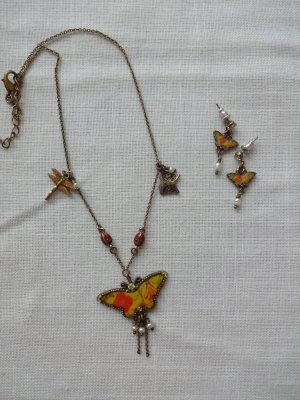 dekoratives Schmuckset schmettetlinge von pilgrim