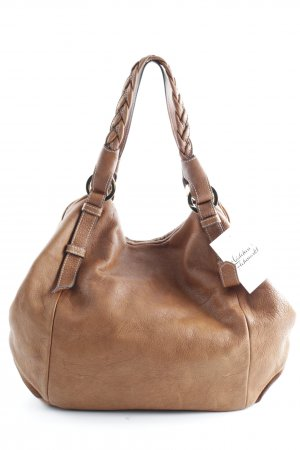 Del Conte Shoulder Bag light brown casual look