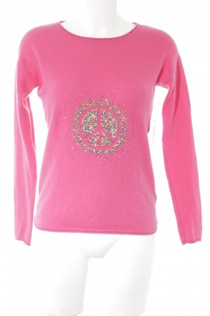 Delicate Love Cashmerepullover pink Casual-Look