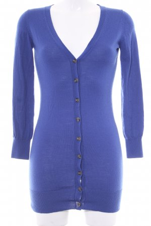 Delicate Love Gebreide cardigan blauw casual uitstraling