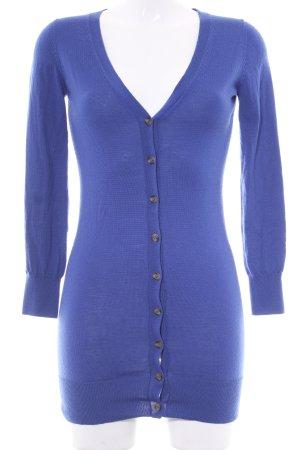 Delicate Love Strick Cardigan blau Casual-Look