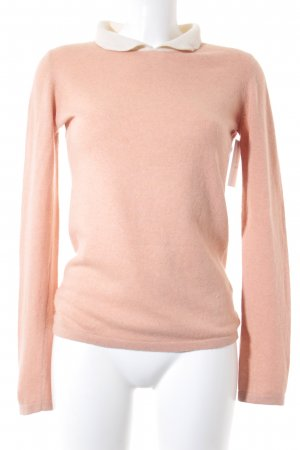 Delicate Love Wollpullover apricot-creme Casual-Look