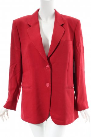 Delmod Blazer dunkelrot Business-Look