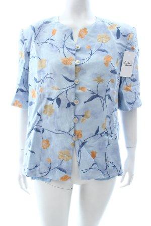 Delmod Bluse florales Muster klassischer Stil