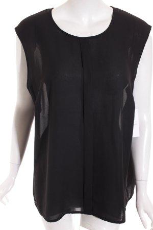 Delmod Blusentop schwarz Elegant