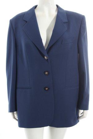 Delmod Long-Blazer blau Vintage-Look