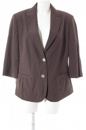 Delmod Long-Blazer braun Casual-Look
