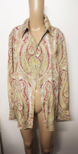 DELMOD Paisley Bluse Hemd