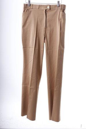 Delmod Stretchhose beige Nude-Look