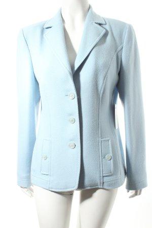 Delmod Woll-Blazer hellblau klassischer Stil