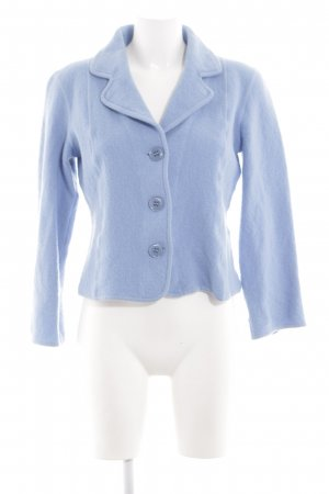 Delmod Wolljacke blau Casual-Look