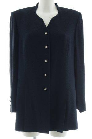Delmond Kurz-Blazer schwarz-blau Elegant