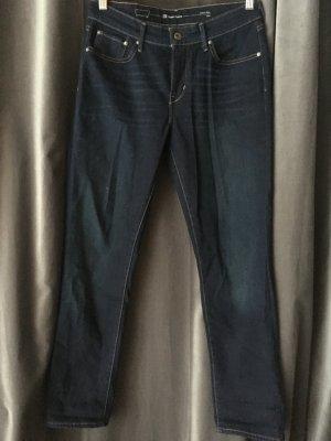 Levi's Slim jeans donkerblauw Katoen