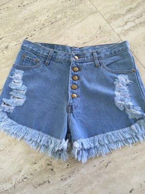 Denim Shorts multicolored