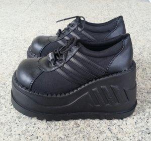 Demonia Stomp-08 Plateau Halbschuhe Platform Sneaker