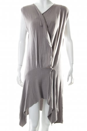 Demonia Gebreid vest mauve-grijs-lila simpele stijl