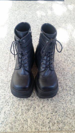 Demonia Technopagan Boots Veganes Leder Gothic Punk