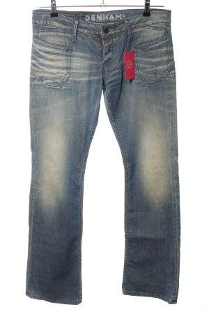Denham Boot Cut Jeans blau Casual-Look