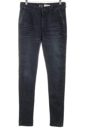 Denham High Waist Jeans blau Casual-Look
