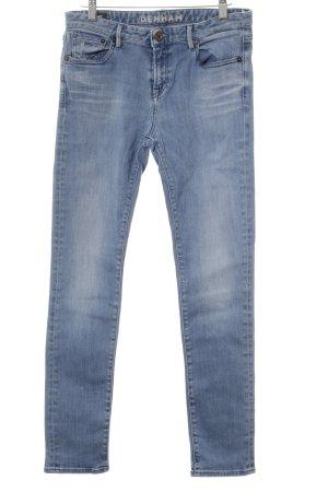 Denham Hüftjeans blau-hellblau Casual-Look