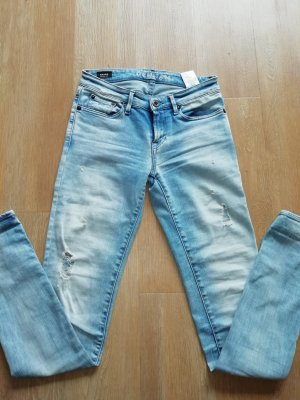 Denham Jeans slim fit azzurro