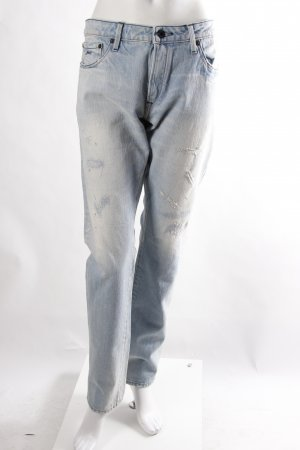 Denham Jeans Used Look blau