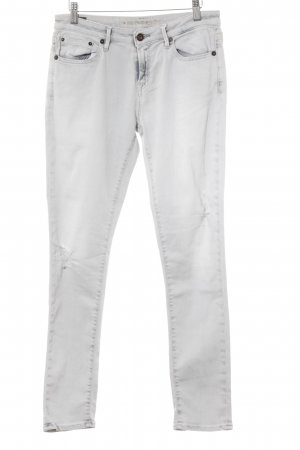 Denham Carrot Jeans light grey-white casual look