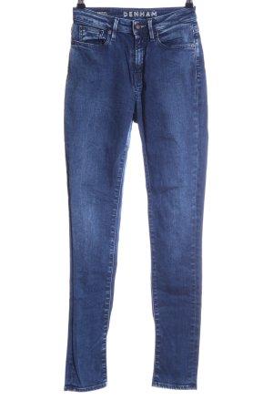 Denham Skinny Jeans blau Casual-Look