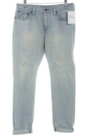 Denham Skinny Jeans blassblau Casual-Look