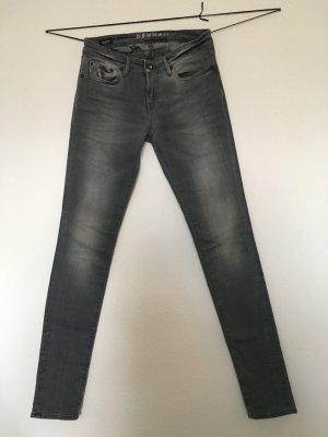 """Denham Skinny Jeans """"Sharp"""" grau"""