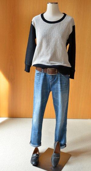 Denham Sweatshirt veelkleurig Katoen