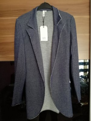 QS by s.Oliver Knitted Blazer steel blue